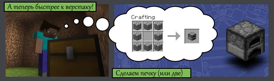 Как сделать автоматическую печку в майнкрафт pe - YouTube